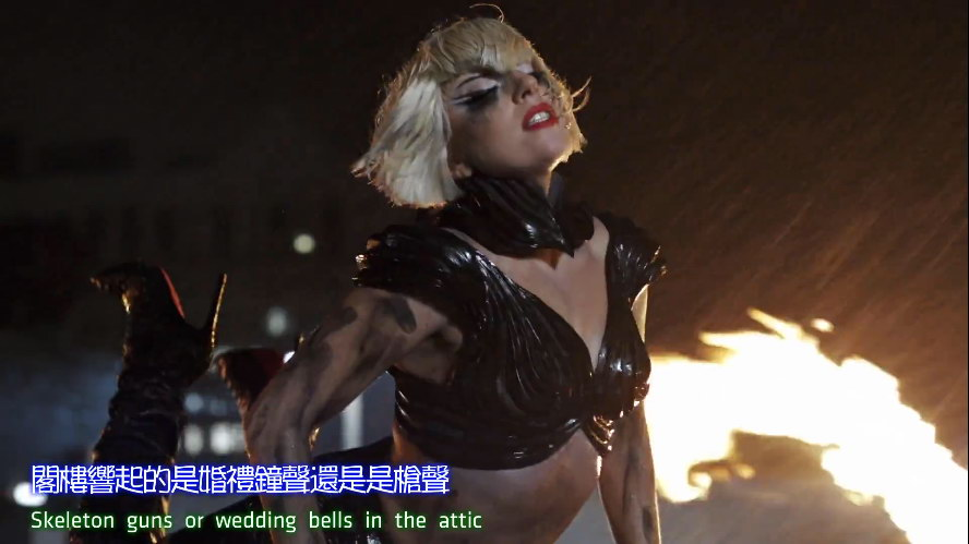 Lady GaGa-[Marry The Night].MV.繁体中英字幕版.1080P